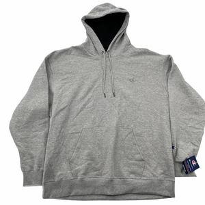 Champion Gray Powerblend Fleece Hoodie Sweatshirt